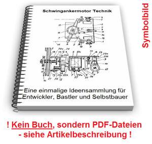 Schwingankermotor selbst bauen - Schwinganker Antrieb Schwingankerpumpe Technik
