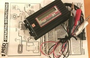 DIGITAL IGNITION TESTER (Papers Included) MSD 8995 RPM Regulator  Great Cond.