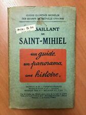 Michelin Champs de Bataille Le Saillant de Saint Mihiel