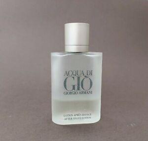 Acqua Di Gio After Shave Balm 3.4oz GIORGIO ARMANI FOR MEN 35 % FULL