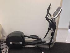 Elliptical Fitness training machine LCD display heart rate monitor