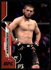 2020 Topps UFC MMA Red #69 Khabib Nurmagomedov 1/8