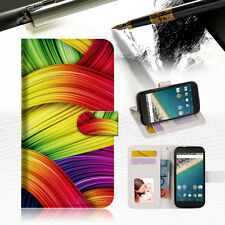 Meaningful Abstract Wallet Case Cover for Alcatel Pop Star A020