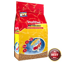 TETRA POND KOI VIBRANCE COLOR ENHANCING PREMIUM FISH FOOD 5.18 LBS. 16486 ...