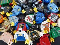 LEGO 10 mal TORSO Oberteile von Figuren Männchen Figurenteile Konvolut