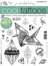 Cool Tattoos Tattoo Design Flash Book - Avant-Garde, Minimal, Geometric Designs