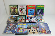 Lot Disney and Other Kid Family DVDs Movies Bambi, Mickey, Goosebumps Happy Feet