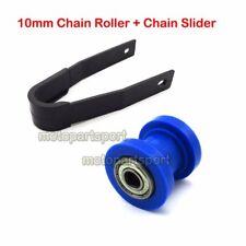 Chain Slider Guard 10mm Blue Chain Roller Tensioner For CRF50 KLX Pit Dirt Bike