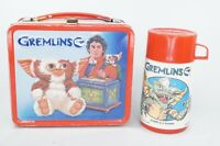 Vintage Gremlins Metal Lunch Box and Thermos Aladdin Warner Brothers 1984
