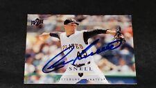 2008 Upper Deck #202 Ian Snell Auto Baseball Card