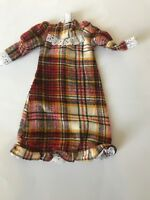Sindy doll Clothes 1984 Highland Fling Outfit 43014 Tartan Dress vintage dolls