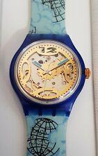 Swatch Automatic SAN101 Mappamondo - NEU & OVP