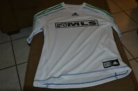 New Adidas MLS Green and White Reserve Jersey Size M Men's