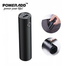 Poweradd 5000mAh Power Bank Dual USB Portable Charger for Cell Phone 2.4A Output