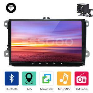 """9"""" Android 9.1 Autoradio Bluetooth GPS NAVI Kamera Für VW GOLF 5 6 Passat Touran"""