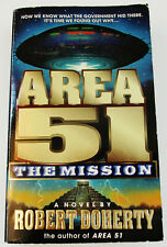 Robert Doherty-Area 51-The Mission-Alien Science Fiction Paperback Book