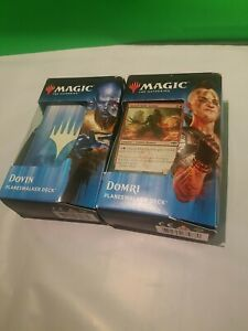 Magic the Gathering Planeswalker Deck Ravnica Allegiance, BOTH Dovin and Domri