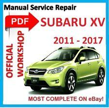 # OFFICIAL WORKSHOP MANUAL service repair FOR SUBARU IMPREZA & XV 2011 - 2017