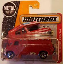 2017 Matchbox `95 Custom Chevy Van in 1/64 MBX Chevrolet 1995 mit Ersatzrad