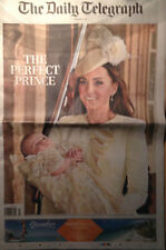 The Daily Telegraph October 24 2013,Prince George Christening,Kate Middleton NEW