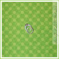 BonEful Fabric FQ Cotton Quilt VTG Lime Green Calico Flower Xmas Check Gingham