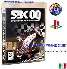 SUPERBIKE WORLD C. 09 SBK 09 PS3 GIOCO NUOVO ITALIANO