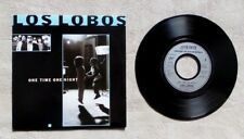 "S DISQUE VINYLE 45T SP PROMO / LOS LOBOS ""ONE TIME ONE NIGHT"" 1987 COUNTRY ROCK"