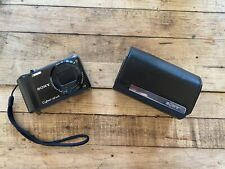 Sony Cyber-shot DSC-H55 14.1MP Digital Camera - Black with case