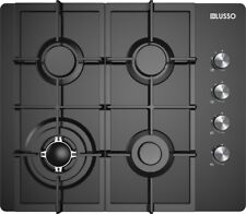 GAS COOKTOP 600mm BLACK GLASS #GC604MBFC