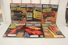 COMPLETE ROAD & TRACK MAGAZINE JANUARY-DECEMBER 1991 (OAK9677-1 #1898 LOC.GLEN)