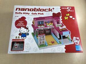 Nano-block plus Hello Kitty Pink's big cafe PK-007