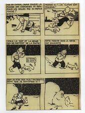 Carte Postale TINTIN planche originale Tintin au Pays des Soviets. Tirage limité