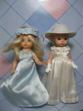 "MCDONALDS MADAME ALEXANDER 5"" DOLL Boy/Girl WEDDING BRIDE BRIDESMAID WHITE BLUE"