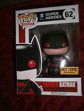 FUNKO POP SUPER HEROES EARTH 2 BATMAN VINYL FIGURE HOT TOPIC EXCLUSIVE # 62