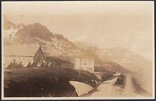 YZ0455 Montagne da identificare - Cascinale - Foto d'epoca - Vintage Photo
