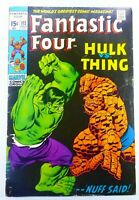 Marvel FANTASTIC FOUR (1971) #112 Key THING vs HULK Iconic Cover GD- Ships FREE!