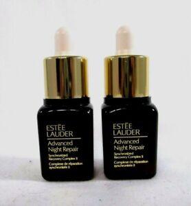 Lot 2 Estee Lauder Advanced Night Repair Synchronized Complex II 0.24 oz ( x 2 )