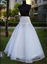 * New Style white A-Line One-Hoop Petticoat/Underskirt/Wedding Dress In Stock