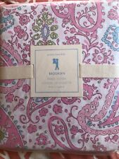 Pottery Barn Kids Brooklyn Paisley Floral TWIN Duvet Cover  NEW