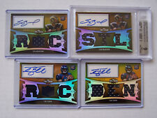 2010 Topps TRIPLE THREADS Football COMPLETE SET Auto/Jersey RC Relics SN 25 GOLD