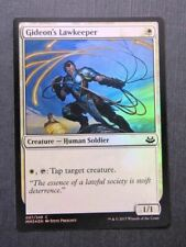 Gideon's Lawkeeper Foil - Mtg Magic Cards #BP