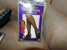 CHILD SIZE FISHNET TIGHTS NIP ONE SIZE FITS MOST BLACK  HALLOWEEN