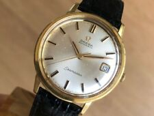 OMEGA SEAMASTER 166.003  34.5mm 18k GOLD AUTOMATIC Cal. 562 VINTAGE RARE  WATCH