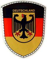 Deutschland Bundesadler Emblem Schild Aufkleber 3D Dekor HR Art. 19012