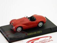 Ferrari 125 S Année 1947 scuderia rouge  1:43 Ixo Altaya