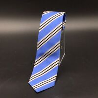 DONALD TRUMP President Signature Collection Silk Necktie Blue STRIPED Power Tie