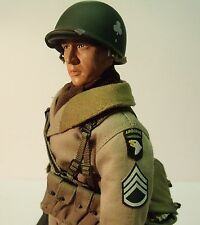 """Dragon 1/6 scale WWII US 101st Airborne 327th Glider Infantry Tab 12"""" Figure"""