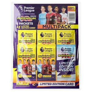 Panini - Premier League 2020/21 Adrenalyn XL Trading Card Collection Multipack