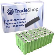 Li-ion 18650 Akkupack 10S5P 36V 14500mAh Panasonic NCR18650PF 14,5Ah