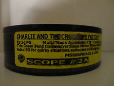 Charlie + the Chocolate Factory (2005) 35mm Movie Trailer 2A SCOPE 2min 30sec